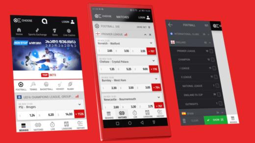Virtual betting software