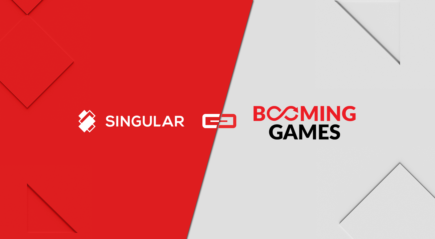 Singular extends casino offering with Booming Games