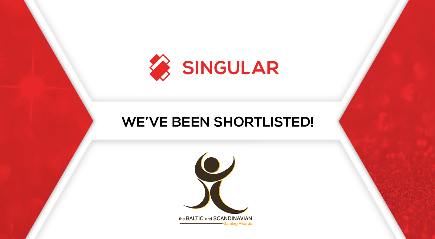 Singular shortlisted in the Baltic Gaming Awards