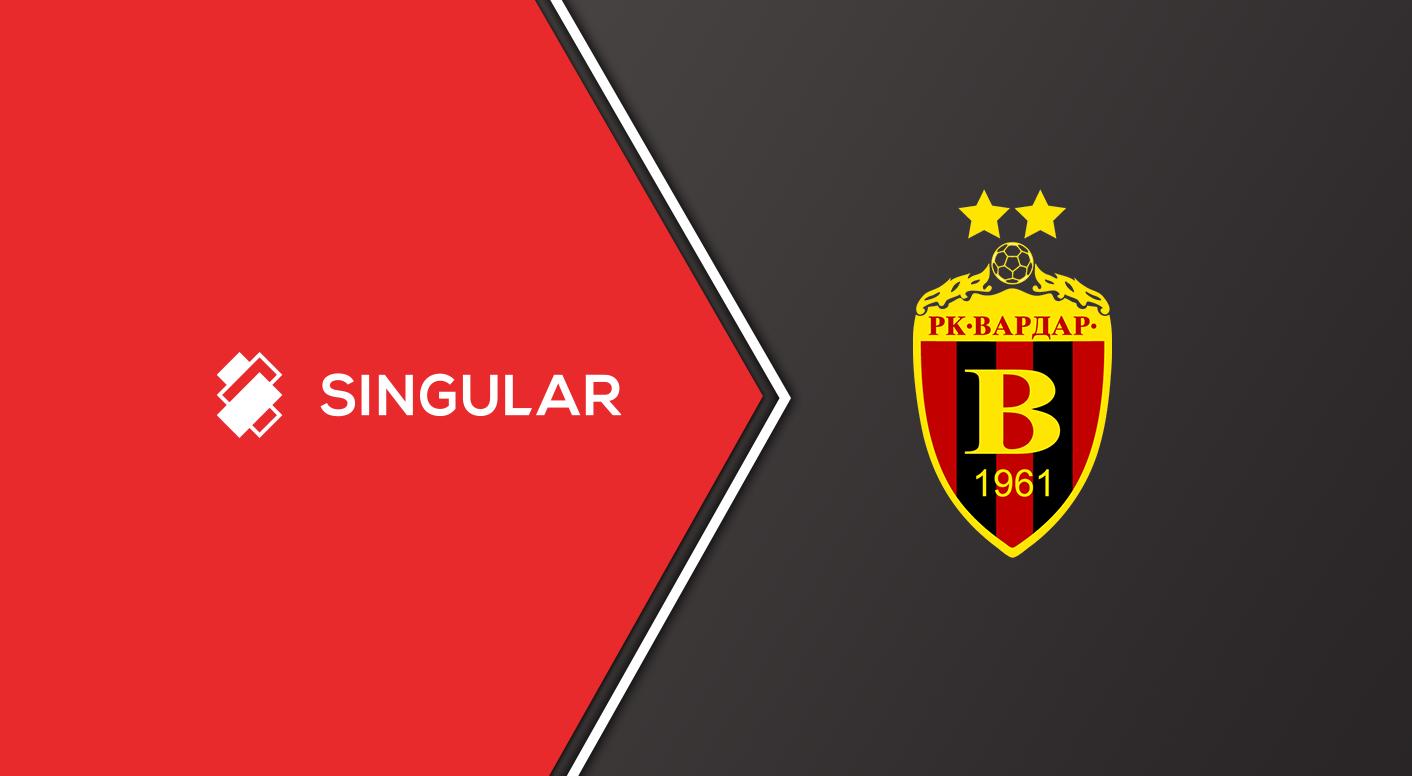 Singular Is The New Sponsor Of The Handball Champion Of North Macedonia