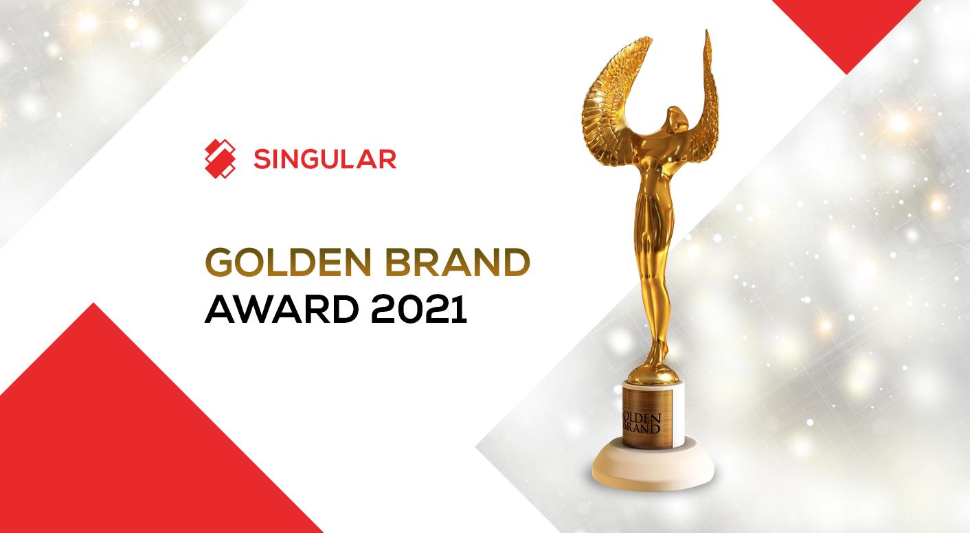 Singular Wins the Golden Brand Award in Georgia